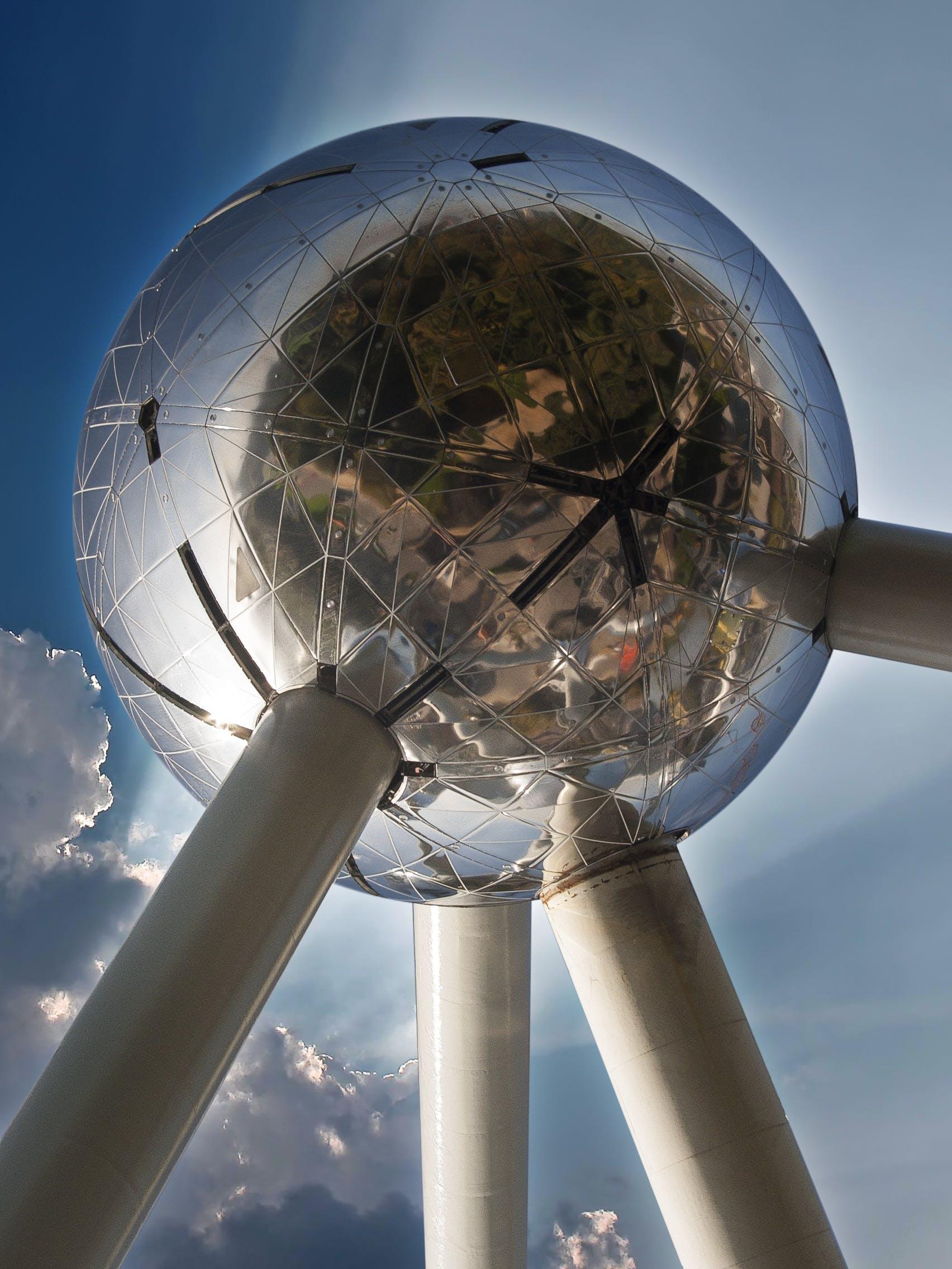 Free stock photo of air, atomic, atomium, Belgium