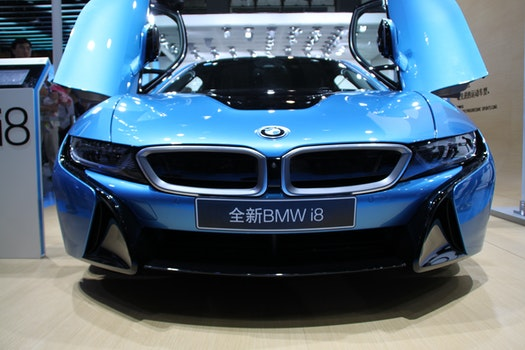 Free stock photo of BMW, i8, electric cars