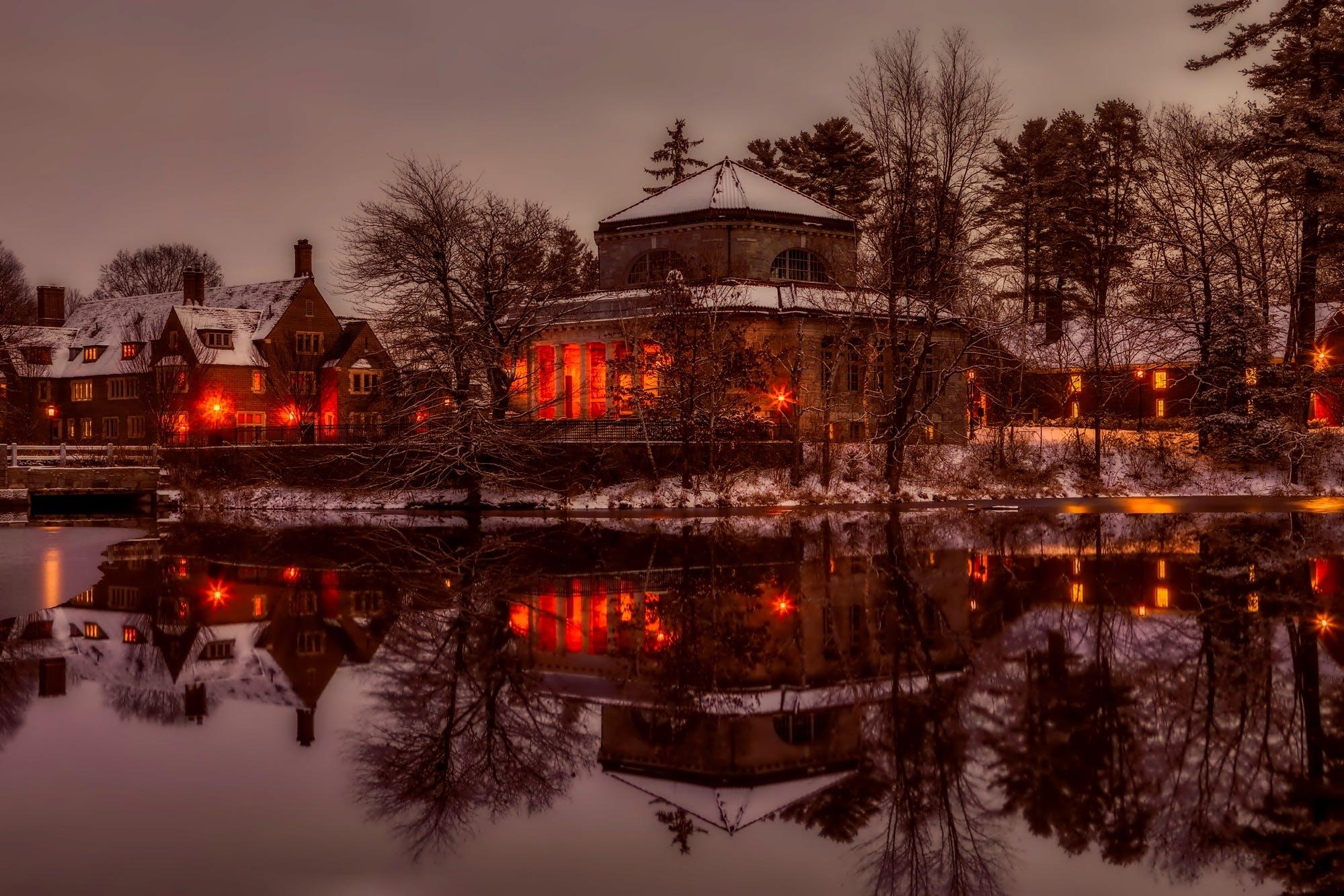 Free stock photo of snow, dawn, landscape, sky