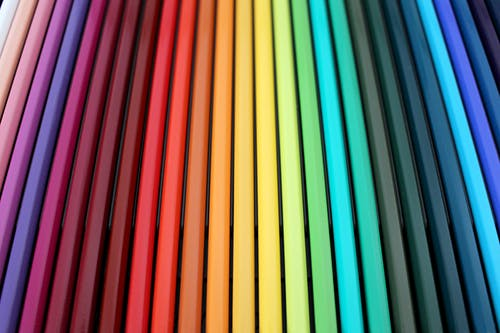 Assorted-color Pencil Set