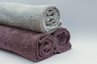bathroom, towels, bath towels