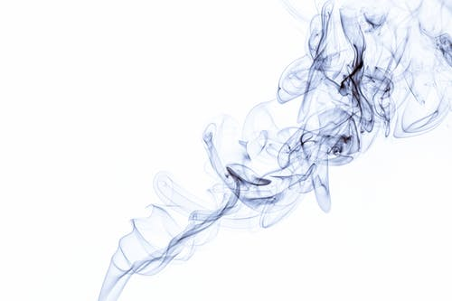 Abstract backdrop of creative bright messy lines of shiny vapor with fluid effect