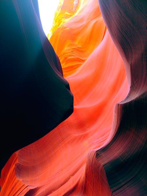 Free stock photo of antelope canyon