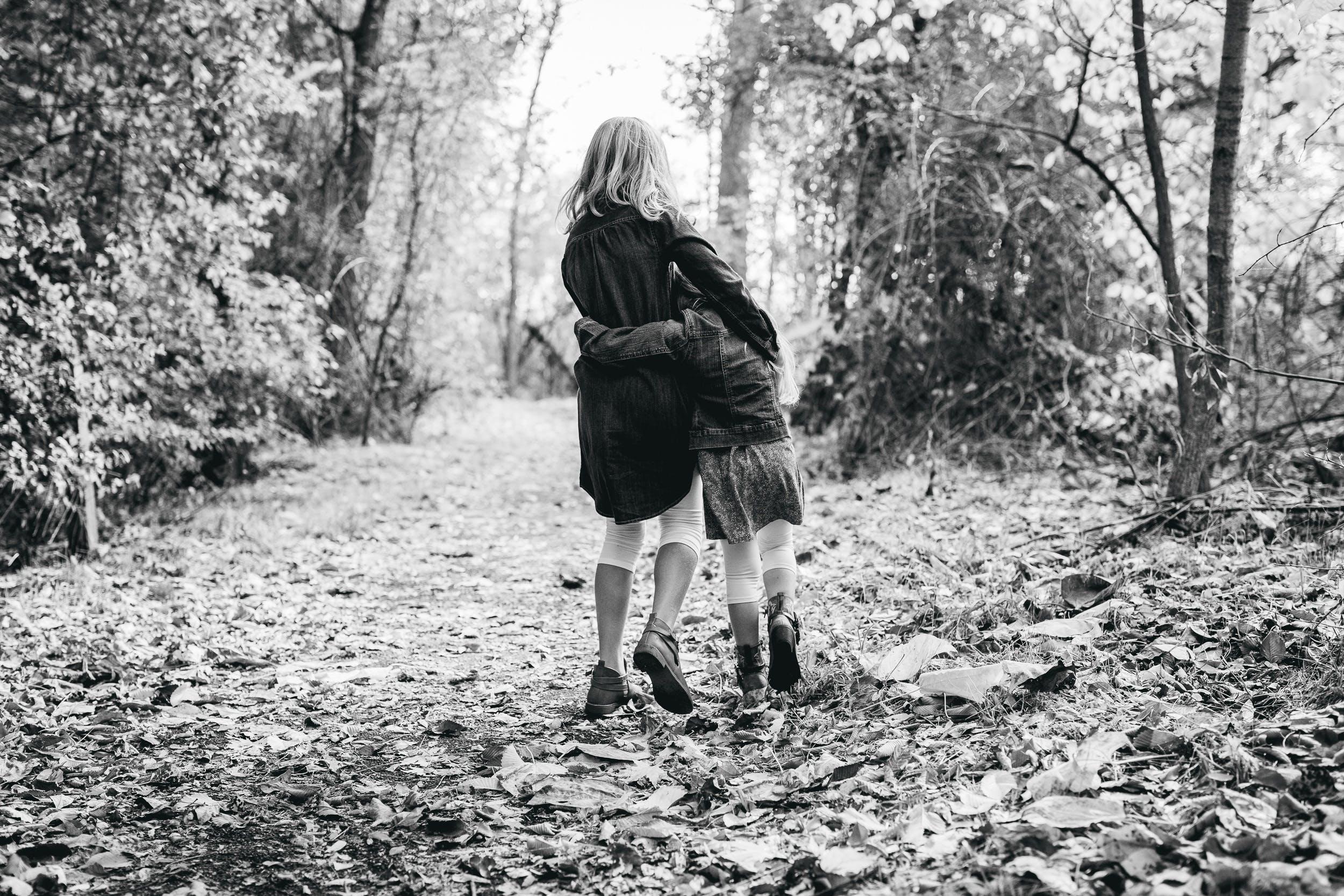 black-and-white, childhood, children