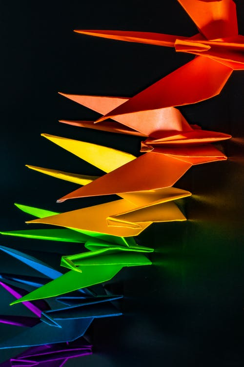 Free stock photo of origami