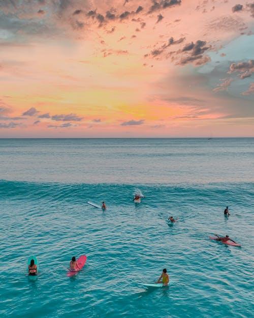 Immagine gratuita di drome, fare surf, fotografia da drone
