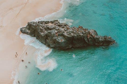 Photos gratuites de baie de waimea, bleu, états-unis