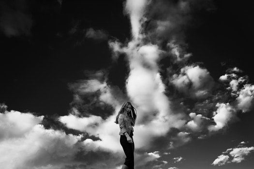 Free stock photo of black-and-white, city, fashion, person
