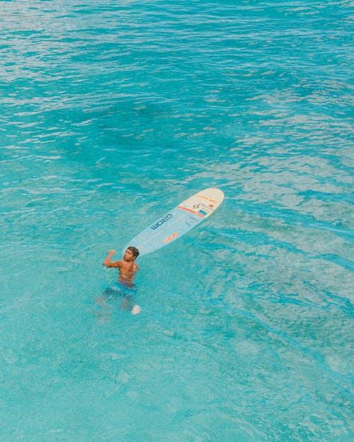Δωρεάν στοκ φωτογραφιών με drone, oahu, Surf, θάλασσα