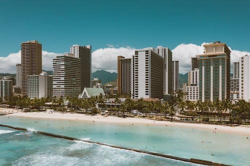High Rise Buildings Near Beach