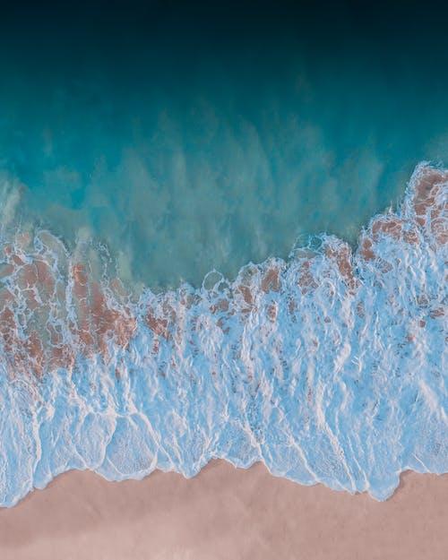 Fotos de stock gratuitas de agua blanca, azul, bonito