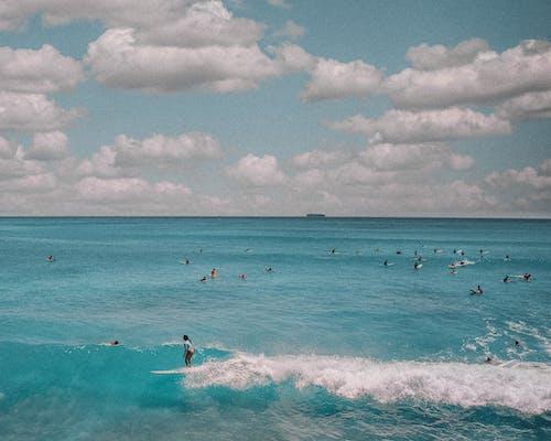 Foto d'estoc gratuïta de bell paisatge, blau, bonic