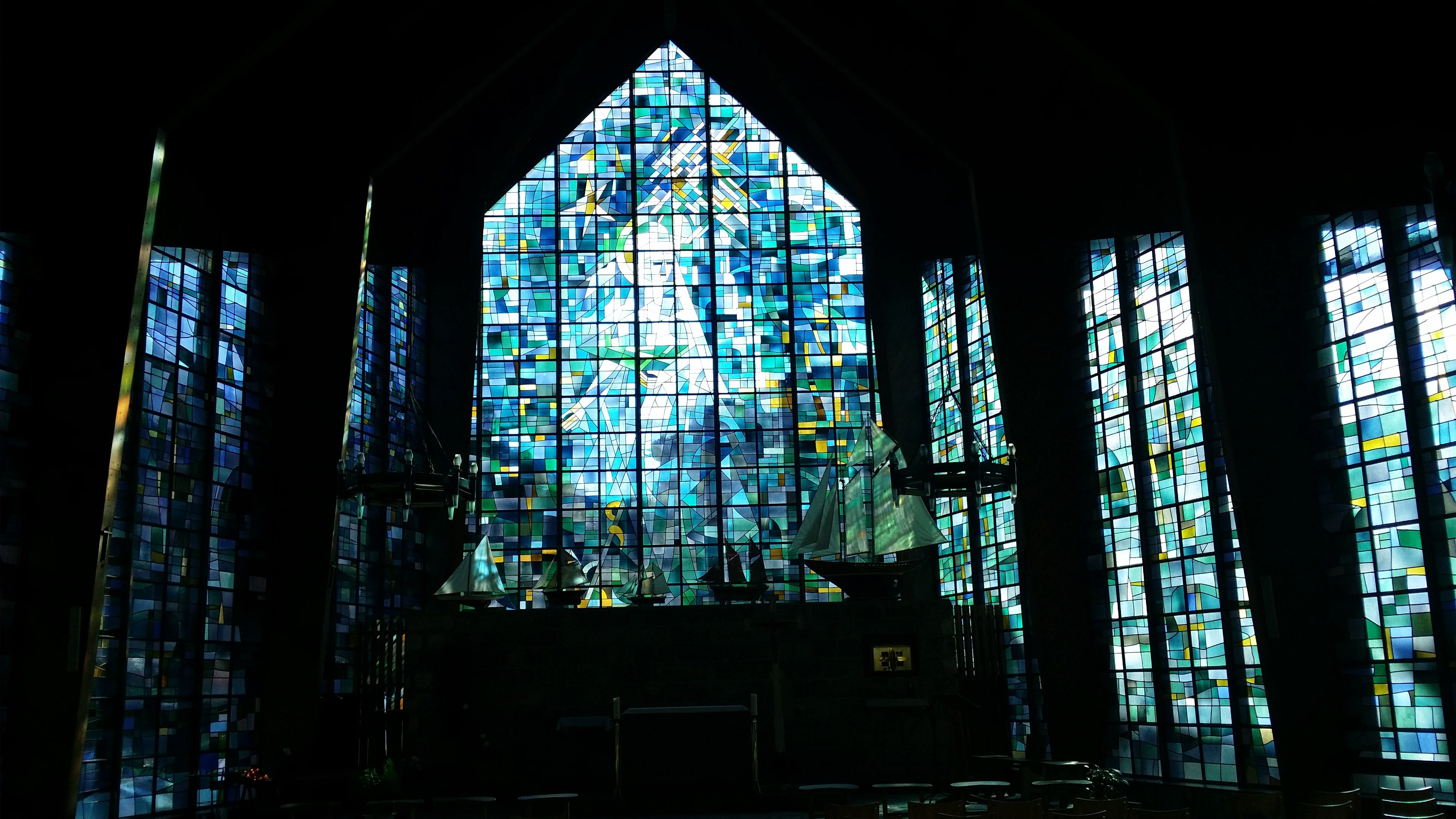 Glass Panel Window