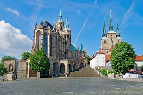 Immagine gratuita di alberi, architettura, castello, centro storico