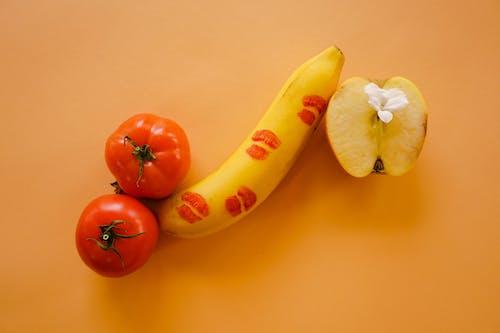 Free stock photo of adult, apple, banana, erotic