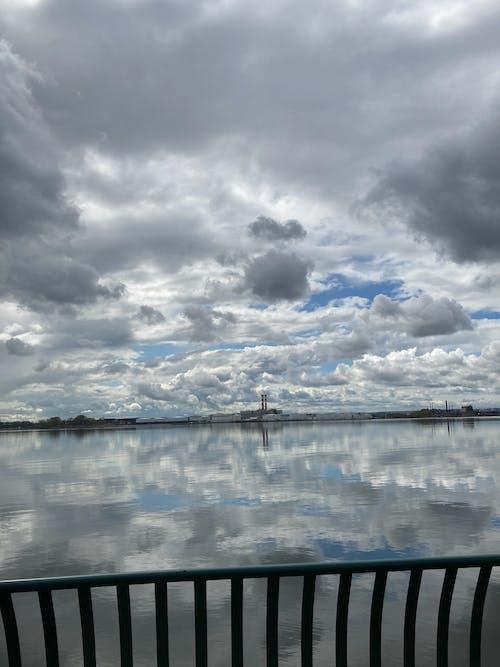 Free stock photo of Cloudy Atlantic Bay