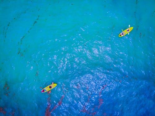 Foto profissional grátis de ação, aéreo, água, água do mar