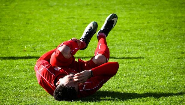 Free stock photo of man, field, grass, sport