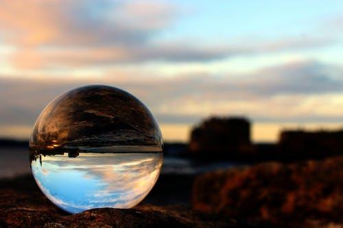 คลังภาพถ่ายฟรี ของ glassball, กระจกเงา, ความมืด, ตะวันตกโลเธียน