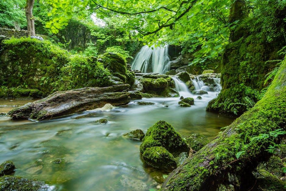 beautiful, cascade, creek