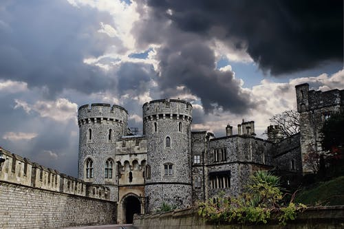Foto stok gratis awan, awan gelap, benteng, berawan