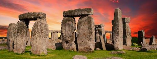 Ingyenes stockfotó Anglia, emlékmű, felhős, kövek témában
