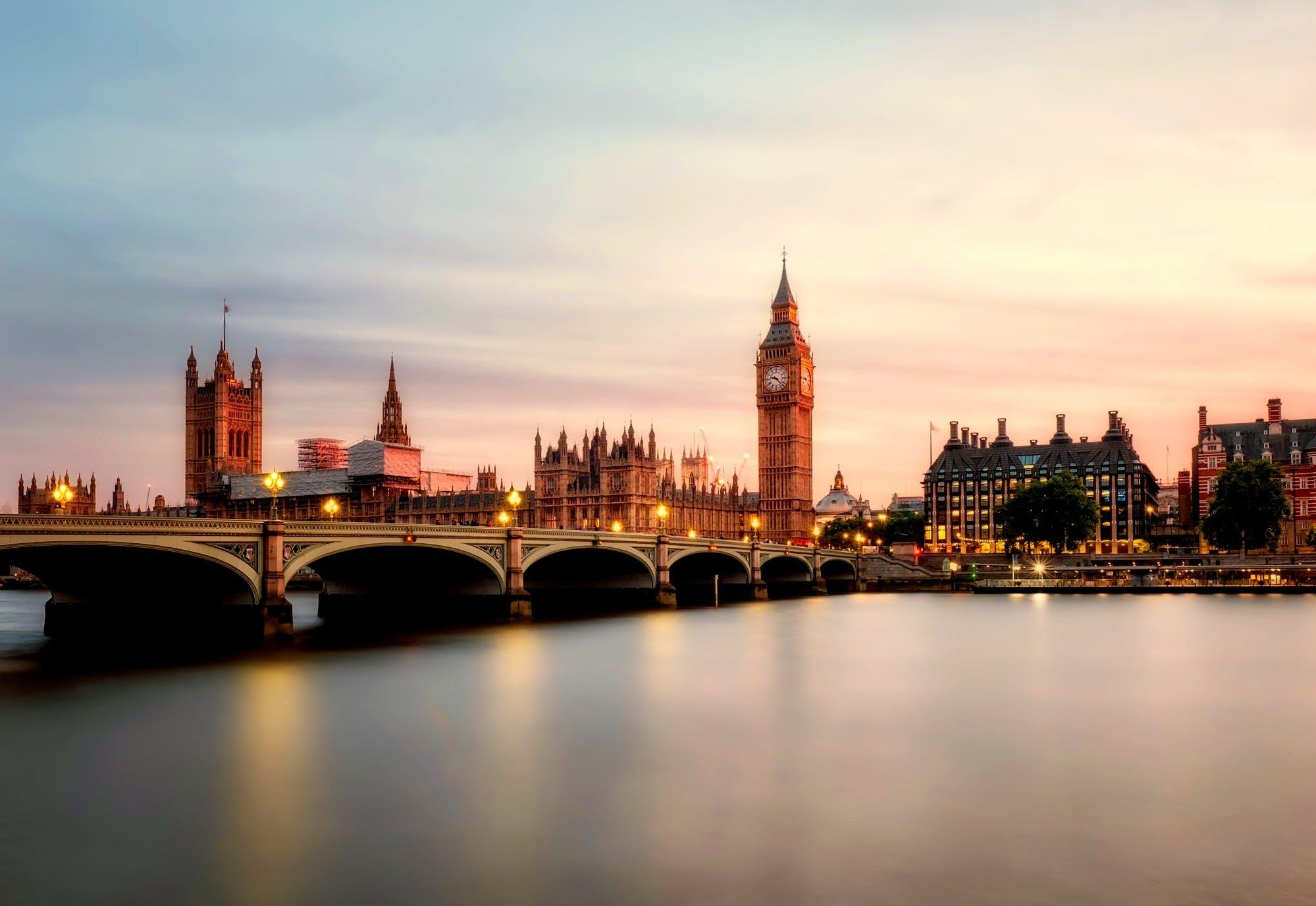Foto d'estoc gratuïta de aigua, Anglaterra, Big Ben, castell