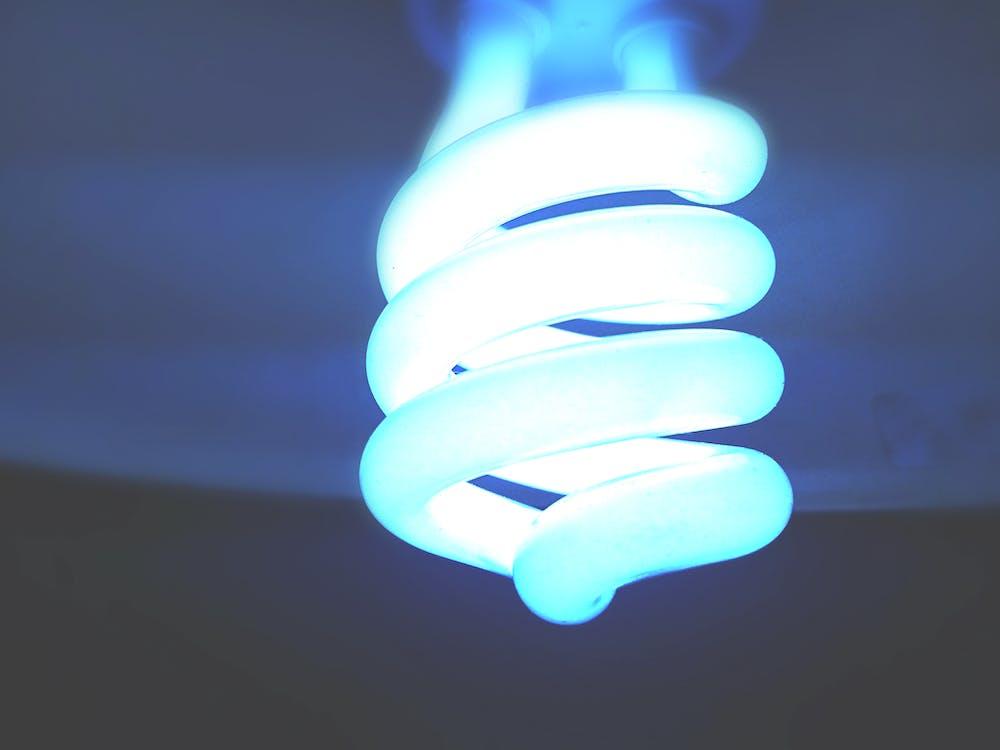 Opened Spiral Light
