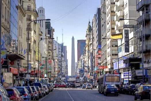 Free stock photo of city, cars, road, vehicles