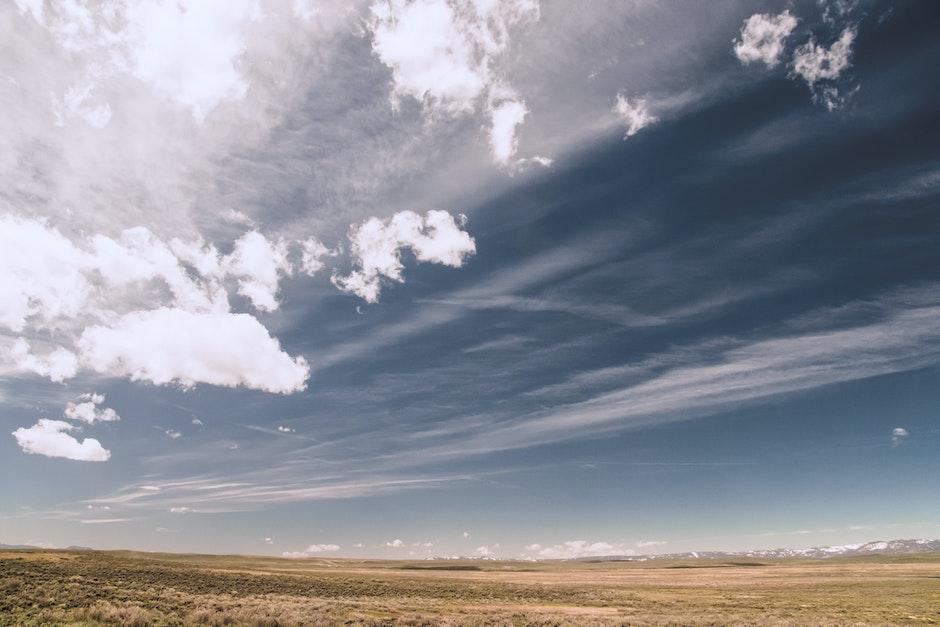 barren, clouds, cloudy