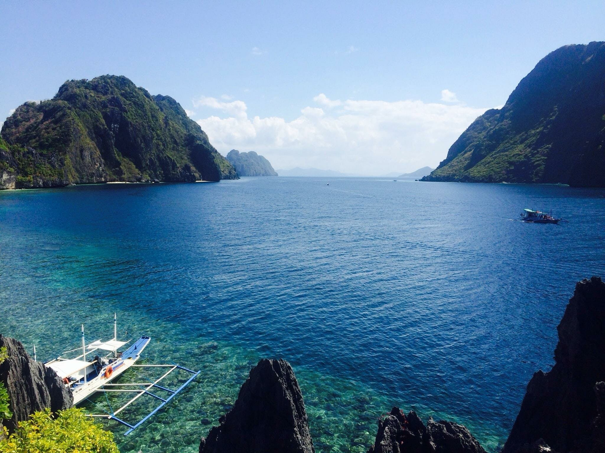 Kostnadsfri bild av båtar, bergen, blå, dagsljus