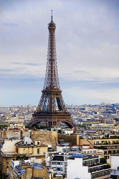 Free stock photo of city, sky, eiffel tower, landmark