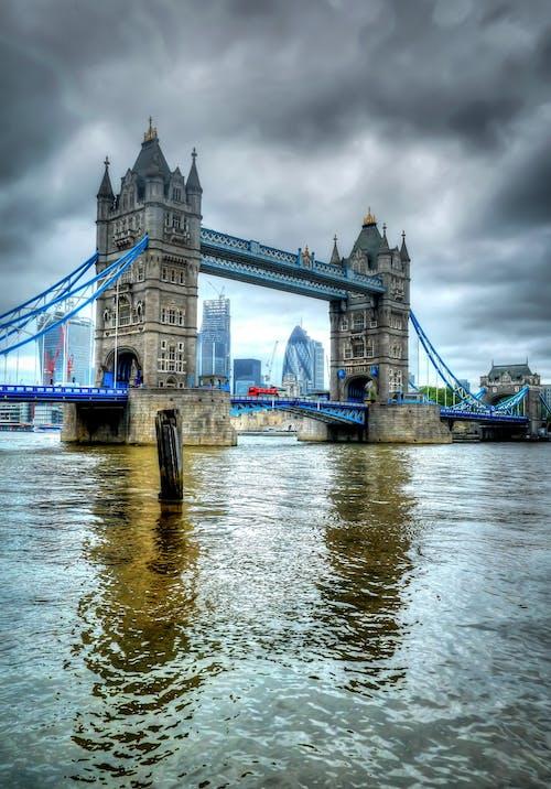 イギリス人, シティ, ブリッジ, ランドマークの無料の写真素材