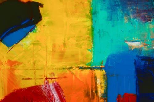 Бесплатное стоковое фото с Абстрактная живопись, абстрактный, акварель, акриловая краска