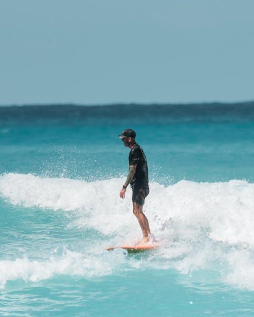 Immagine gratuita di crociera, cultura del surf, fare surf