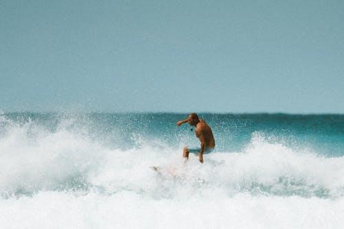 傢伙, 冲浪文化, 噴劑, 噴灑 的 免费素材图片