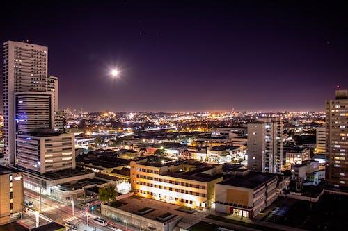 Ingyenes stockfotó alkonyat, belváros, Curitiba témában