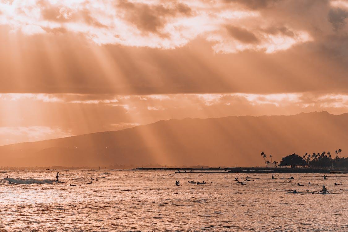 Immagine gratuita di arancia, arancione, colore del tramonto