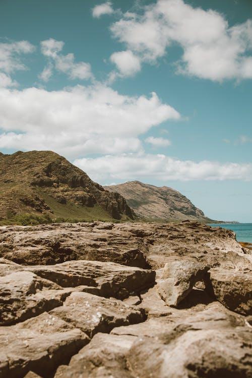 Ilmainen kuvapankkikuva tunnisteilla havaiji, horisontti, kivet