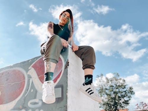 10대, 개성, 거리 예술, 겁내는의 무료 스톡 사진