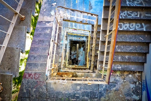 Free stock photo of stairs, graffiti, building, industry