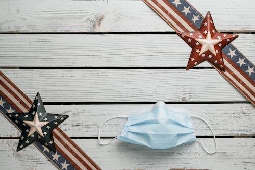 Immagine gratuita di 4 luglio, america, arredamento, bandiera