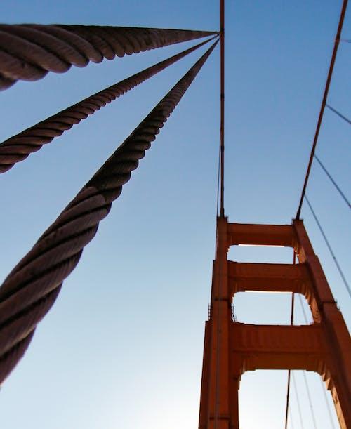 Kostenloses Stock Foto zu bay bridge, brücke, buchtbereich, hängebrücke