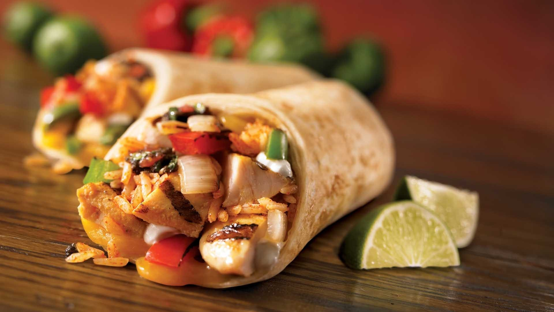 burrito, chicken, delicious