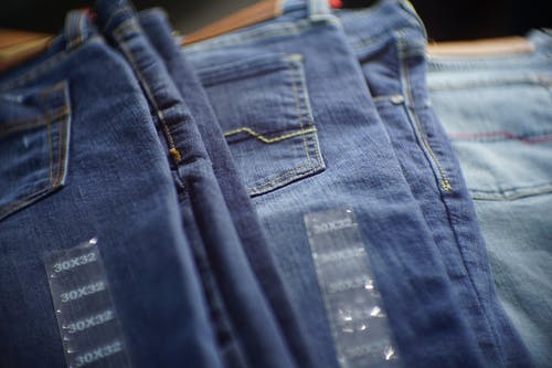 Free stock photo of blue jeans