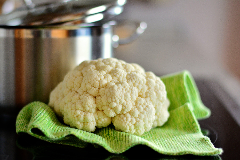cauliflower, cooking pot, delicious