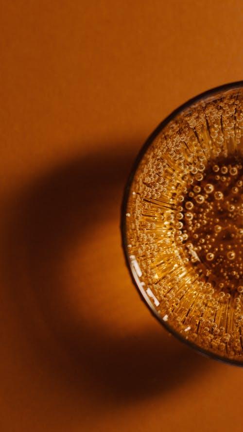 Gratis lagerfoto af blæser bobler, bobler, brun, close-up