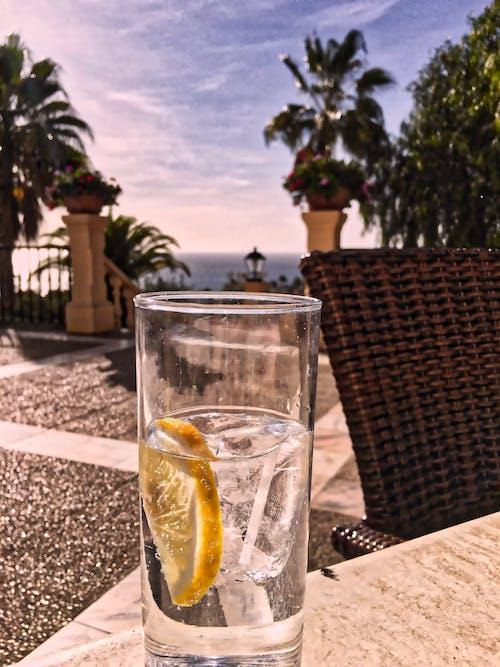 Ingyenes stockfotó citrom, ég, fókusz, frissítő témában