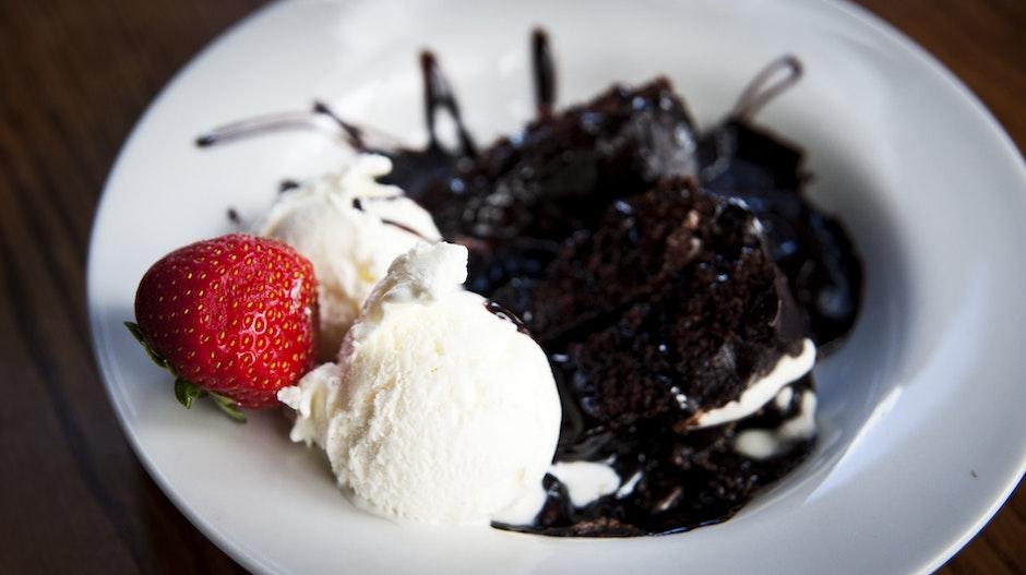 berry, cake, chocolate