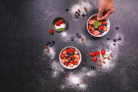 Kostenloses Stock Foto zu essen, gesund, hand, früchte